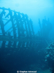 The wooden wreck - Sh'ab Sharm by Stephan Attwood 